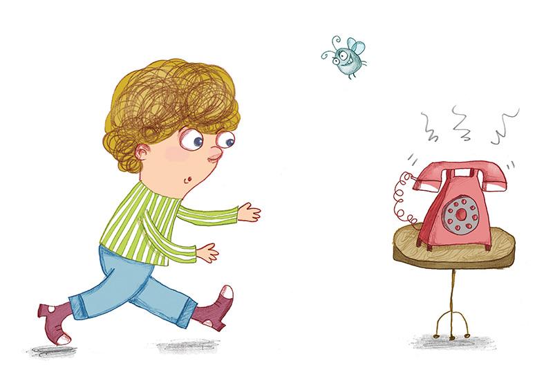 כשהטלפון מטרטר